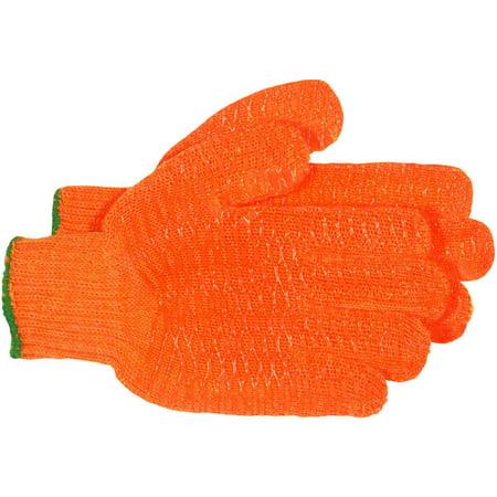 Boss Mfg 4099  Gloves, String Knit, Reversible, Large