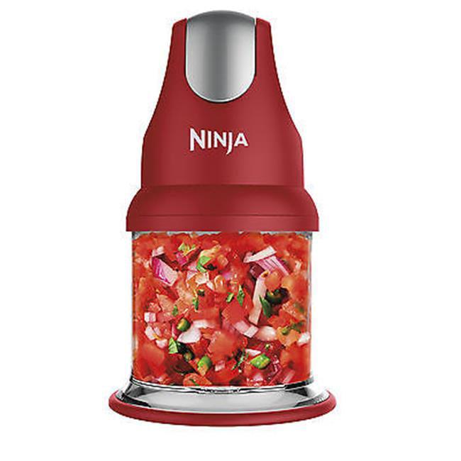 Ninja QB900BR Master Prep Chopper & Blender - Red