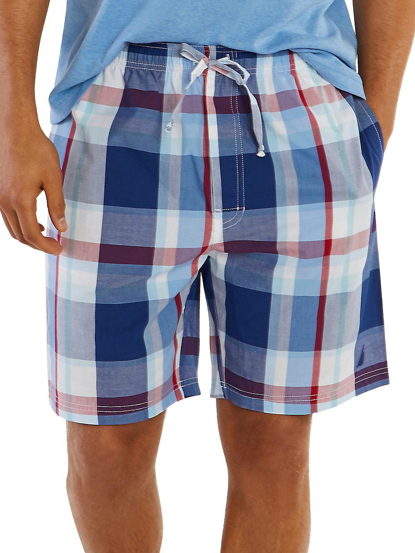 Classic-Fit Plaid Shorts