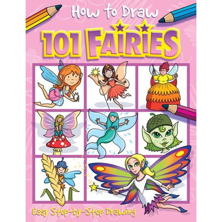 How to Draw 101 Fairies - Halloween Pics To Draw