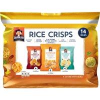 Quaker Rice Crisps Variety Gluten Free 11.08oz 14 Count