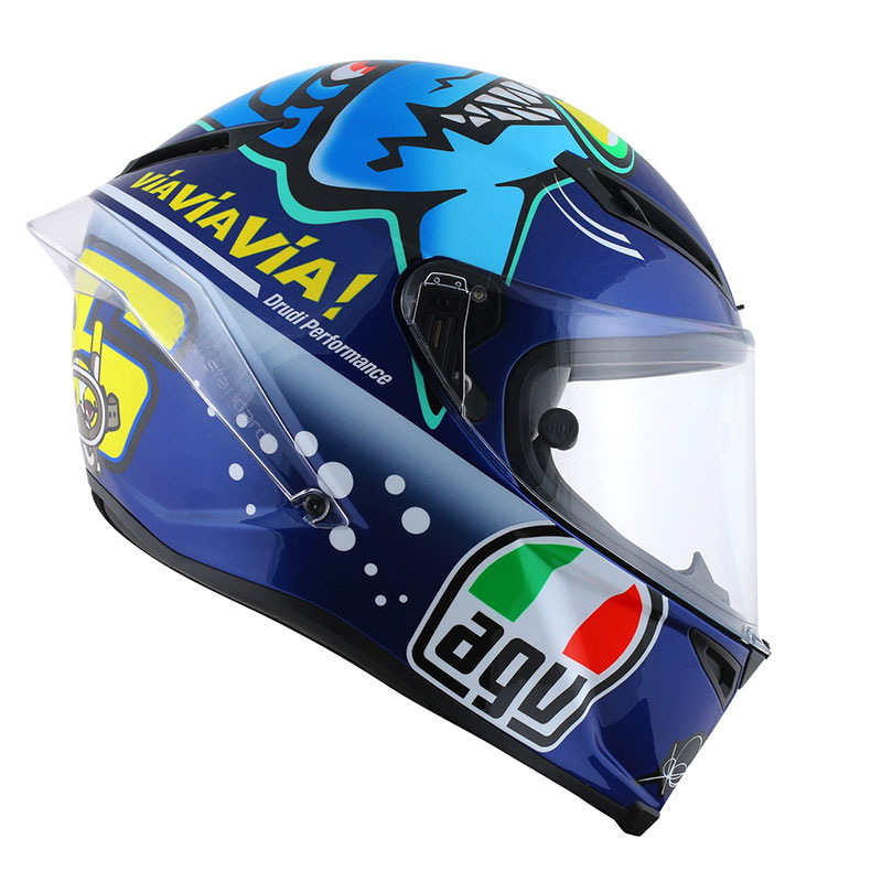 AGV Corsa Misano Shark Ltd Motorcycle Helmet  Blue/Black