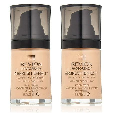 Revlon Photoready Airbrush Effect Makeup #003 Shell (Pack of