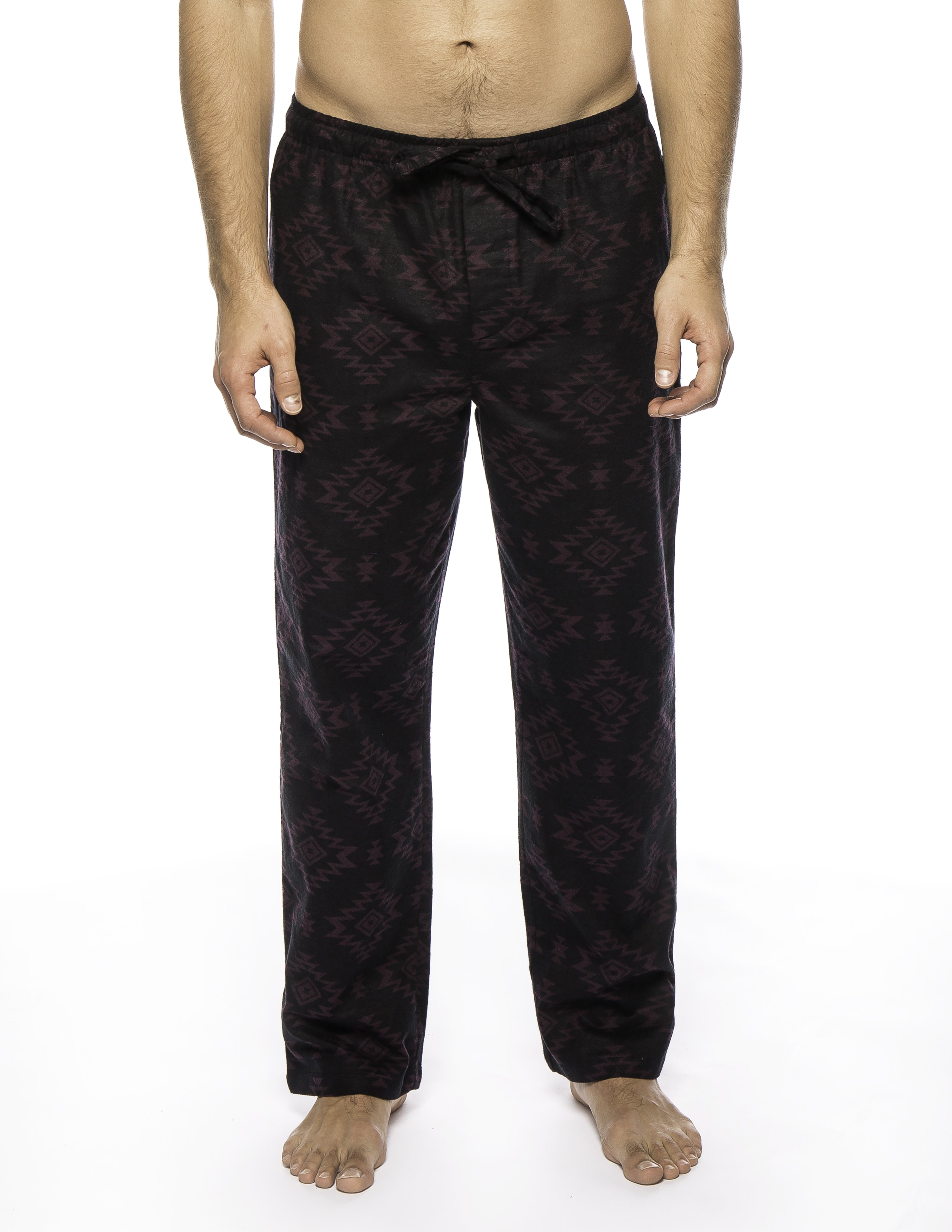 Twin Boat Men's 100% Cotton Flannel Lounge Pants with Pockets