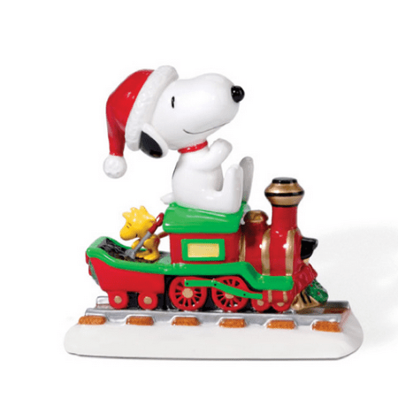 department 56 peanuts snoopys christmas express - Department 56 Peanuts Christmas