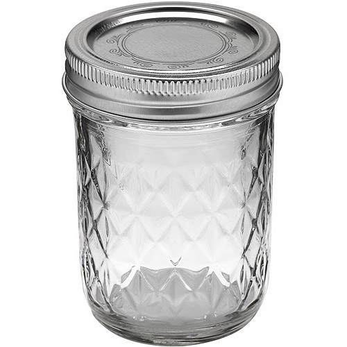 ball 12count 8ounce jelly jars with lids and bands - Glass Containers With Lids
