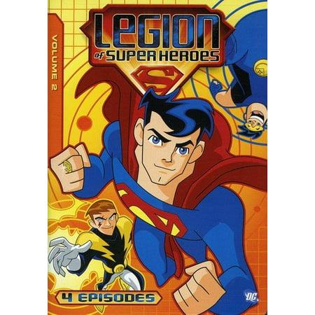Legion of Super Heroes Volume 2 [DVD] (Max Best Friend Hero Marine Lesson Plans)