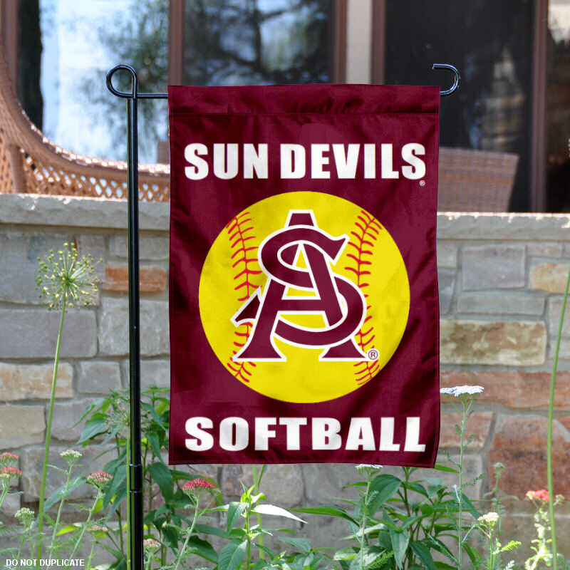 "Arizona State Sun Devils Softball 13"" x 18"" College Garden Flag"
