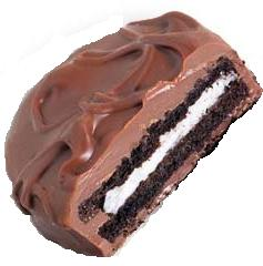 Milk Chocolate Covered Oreo Cookie: 5LBS