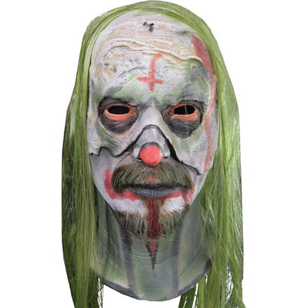 Rob Zombie Psycho Head Mask Adult Halloween - Rob Zombie Halloween Pumpkin Mask