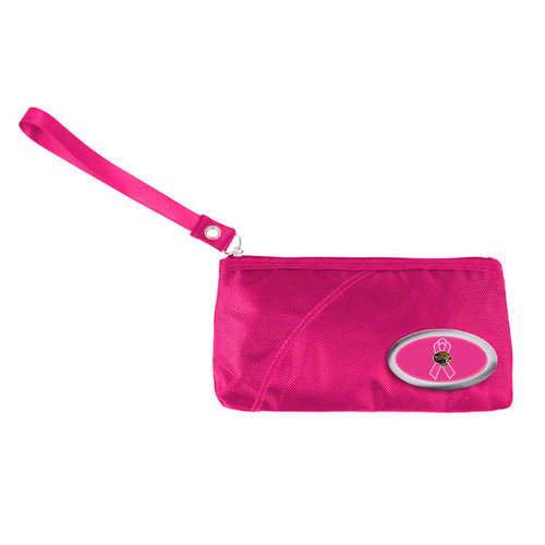 NFL - Jacksonville Jaguars Breast Cancer Awareness Grommet Wristlet