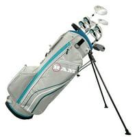 Ram Golf Accubar Ladies Petite Golf Clubs Set -Graphite Shaft Woods &Irons