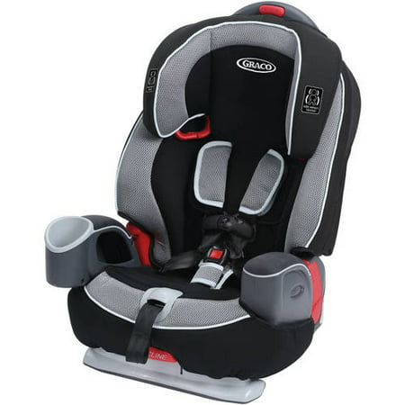 Graco Nautilus 65 3-in-1 Harness Booster Car Seat, Track Black/Gray