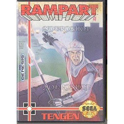 Rampart Sega Genesis by