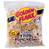 Golden Flake Chicharrones Fried Pork Skins, 3 Oz.