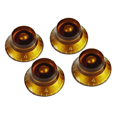 cb52b9bbba6 gibson gear prkh-030 top hat knobs (4)   amber - Walmart.com