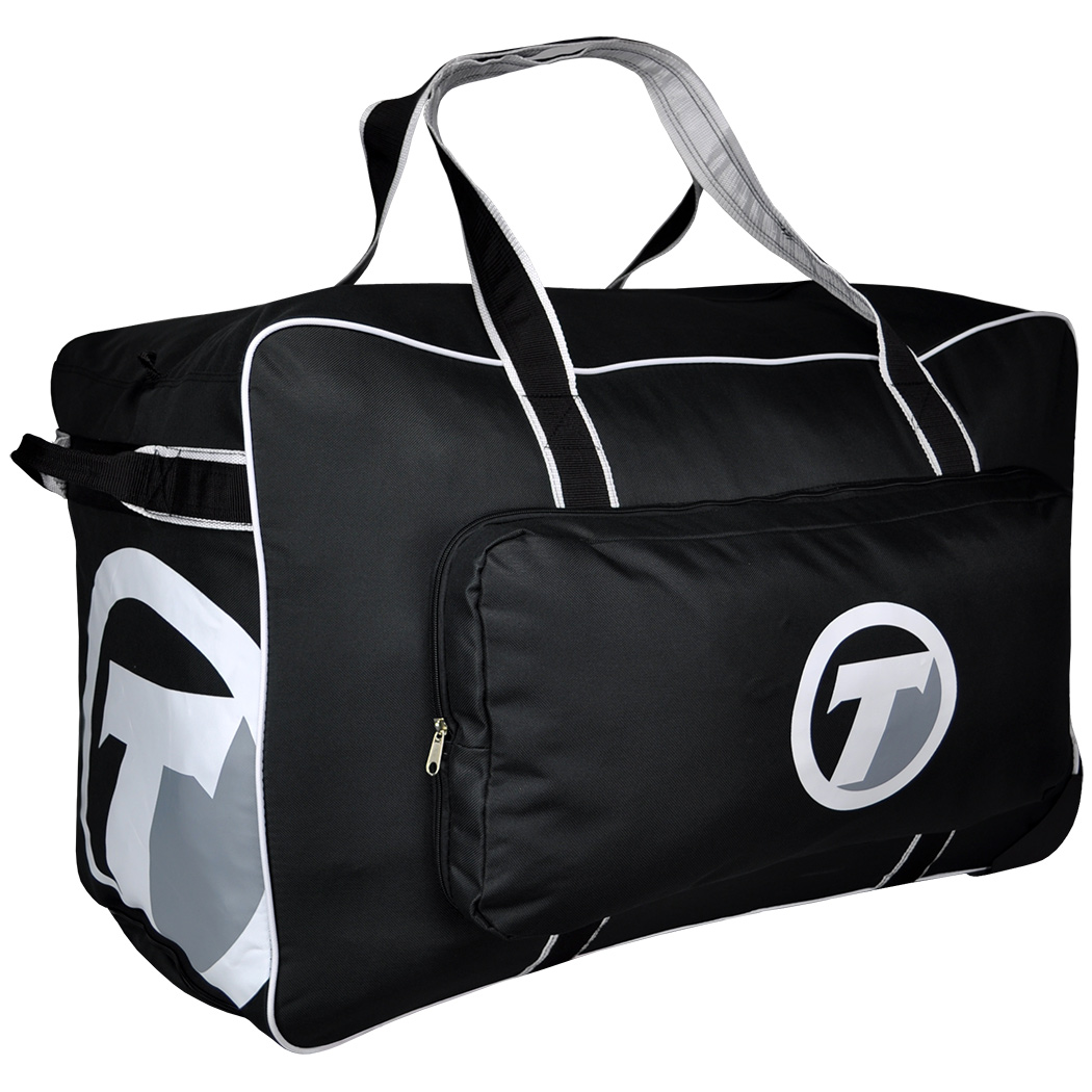 TronX Velocity Wheeled Hockey Equipment Bag (Black) by