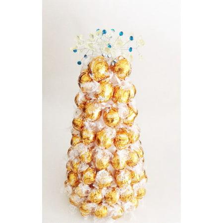 Golden Delight Lindor Lindt Truffle Gift Basket