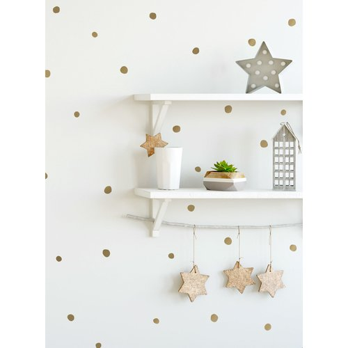 Harriet Bee Port Orange Irregular Dots Wall Decal