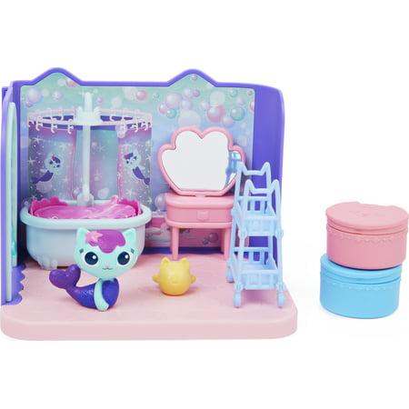 Gabby's Dollhouse, MerCat's Primp and Pamper Bathroom