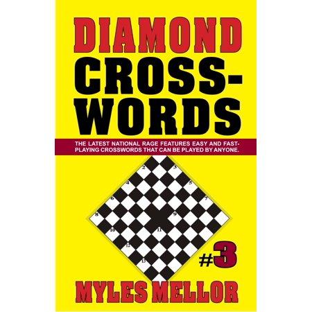 Easy Diamond Crosswords #3, Mellor, Myles