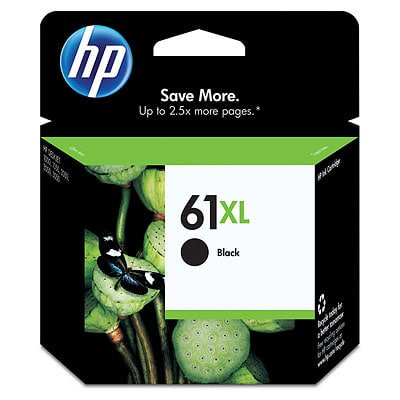 HP 61XL High Yield Black Original Ink Cartridge Black Printhead Cleaning Cartridge