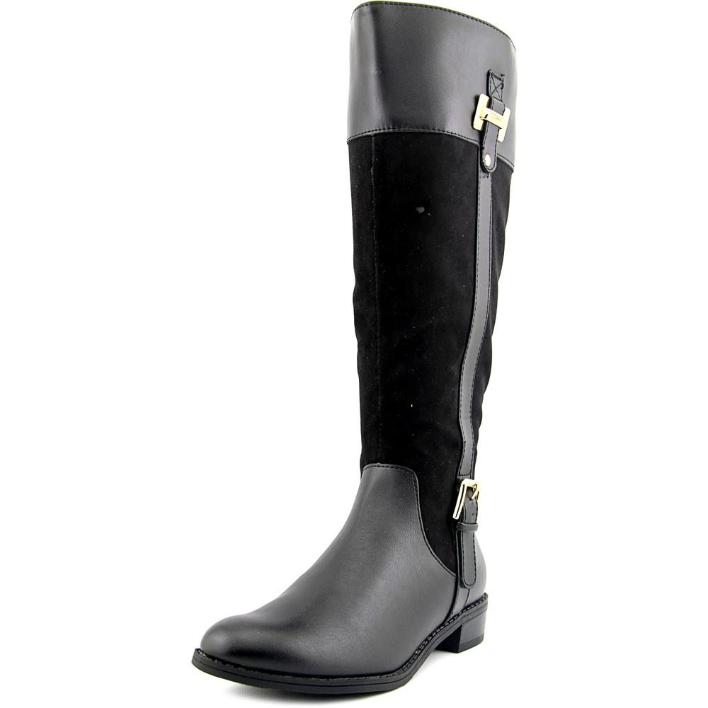Karen Scott Deliee Wide Calf   Round Toe Synthetic  Knee High Boot