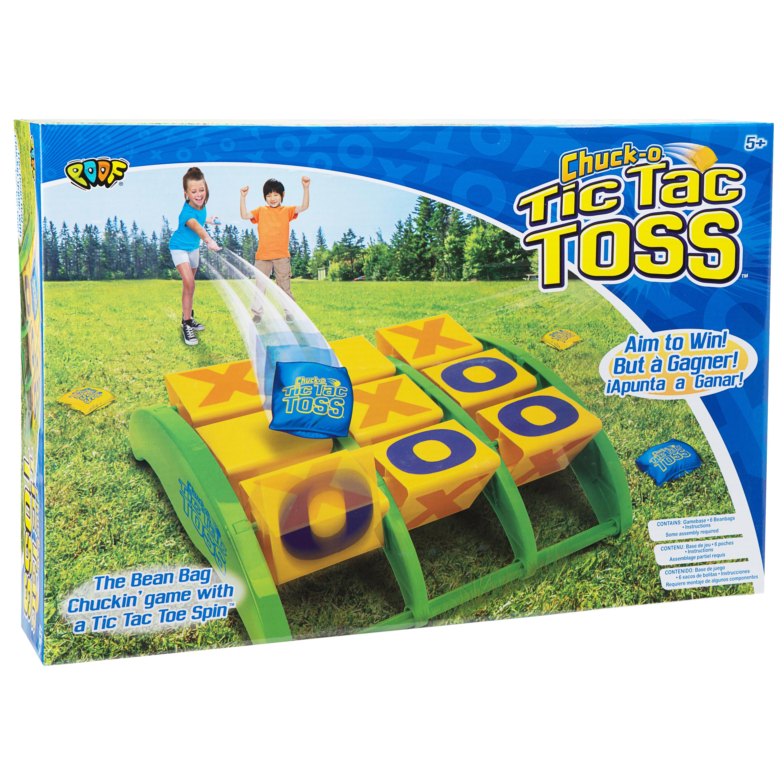 POOF Outdoor Games Chuck-O Tic Tac Toss