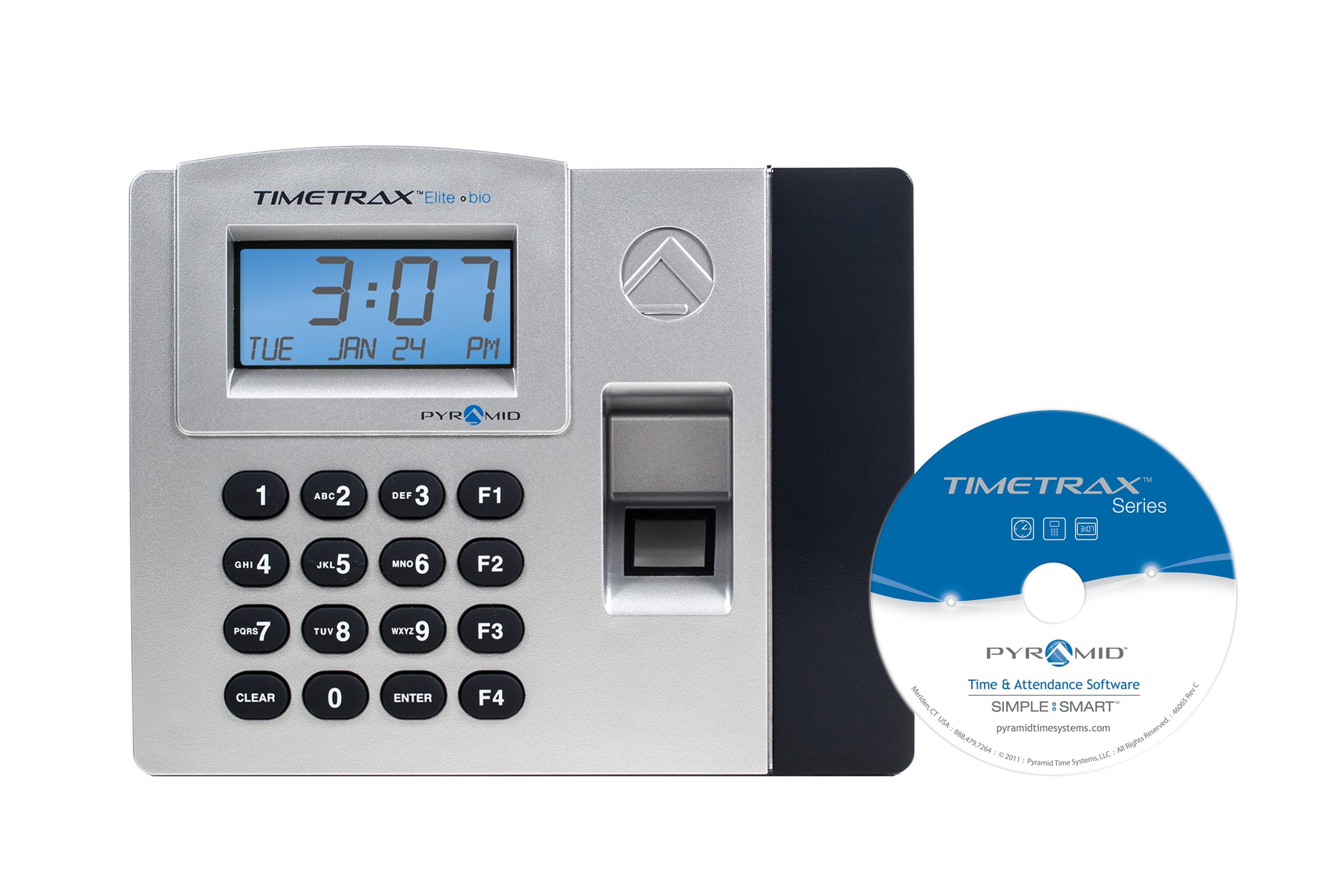 TimeTrax Elite Biometric Time Clock System