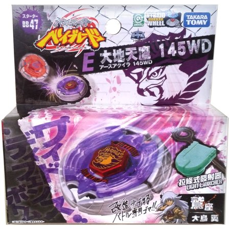 Earth Eagle Aquila 145WD Beyblade BB-47