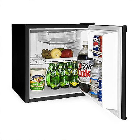 Some mini fridges are cold enough to store fresh groceries and meat. Others are recommended only for beverages and snacks. Others are recommended only for beverages and snacks. An ENERGY STAR certified mini fridge or small refrigerator can help you save on electricity by using less energy.