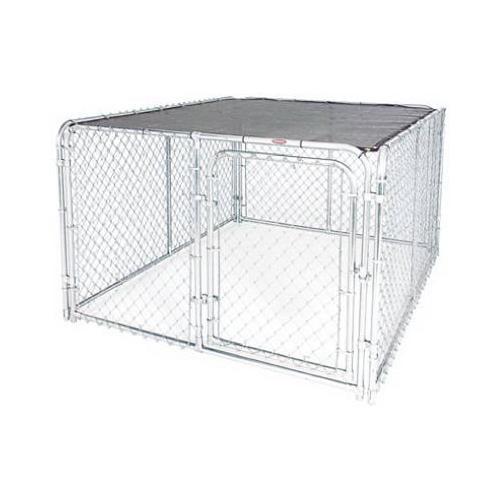 STEPHENS PIPE & STEEL LLC 6 x 8-Ft. Dog Kennel Modular Sunblock Top
