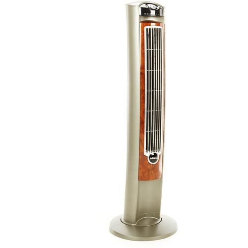 """Lasko 42"""" Wind Curve Fresh Air Ionizer Fan With Remote Control"""