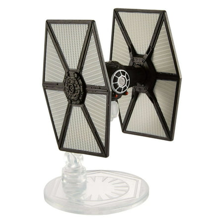 Hot Wheels Star Wars: The Last Jedi First Order Special Forces TIE Fighter, Starship