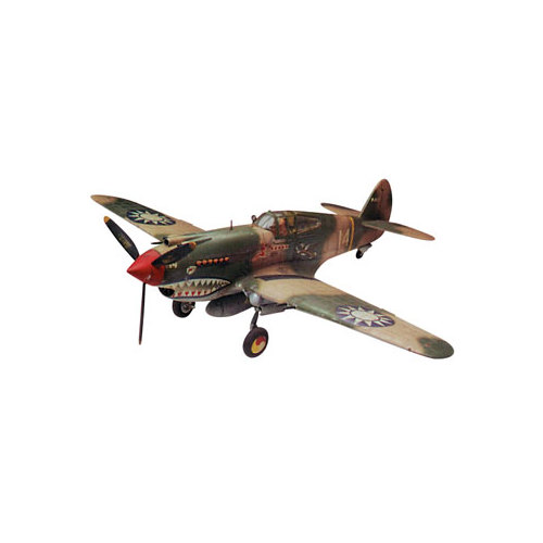 Revell 1:48 P-40B Tiger Shark Model Kit by Revell