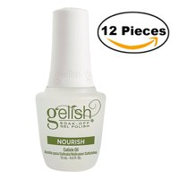 Gelish Soak-Off Gel Polish Nourish Cuticle Oil 0.5 oz (Pack Of 12)