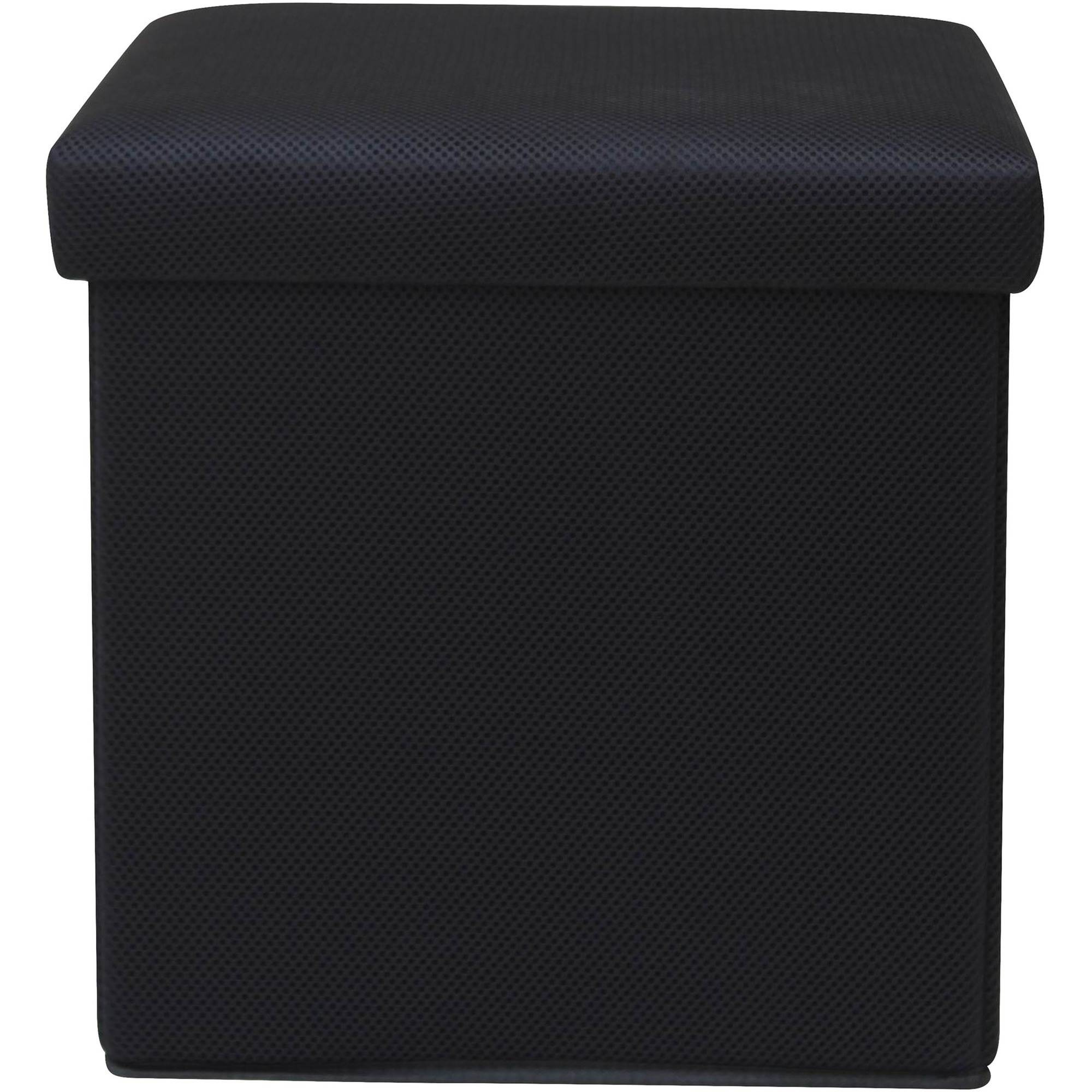 Mainstays Collapsible Storage Ottoman Multiple Colors Walmartcom
