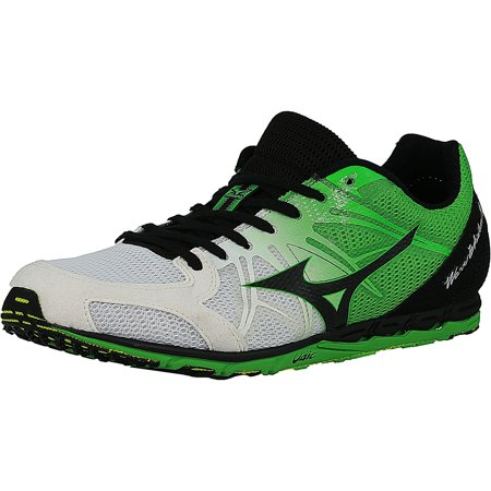 Mizuno Men's Wave Ekiden 9 White / Black Green Ankle-High Running Shoe - 5.5M - image 1 de 1