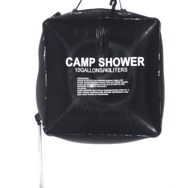 Camping Hiking Solar Heated Camp Shower