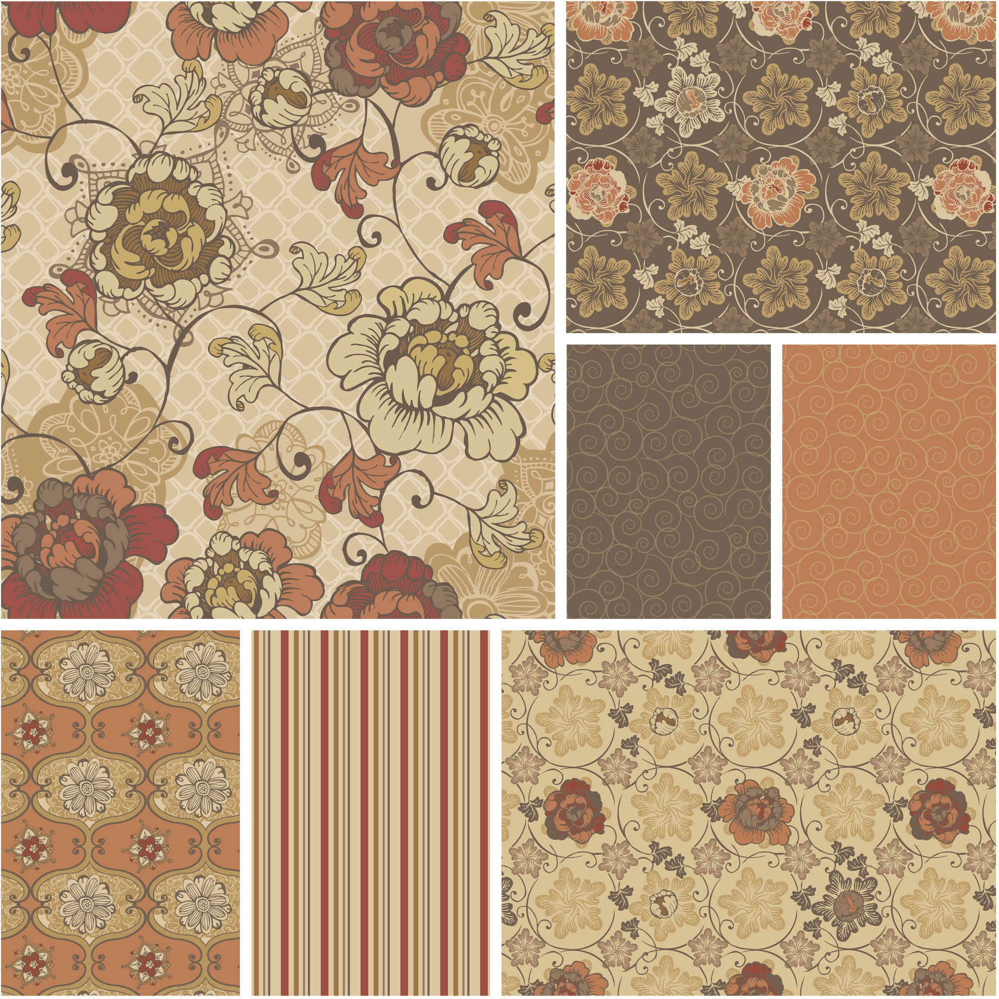"David Textiles Quilting Cotton 44"" Stella's Collection Fabric, per Yard"