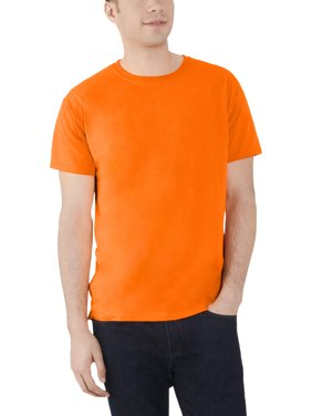 09db5f9c Product Image Men's Dual Defense UPF Crew T Shirt, Available up to sizes 4X