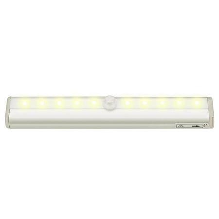 Dreamgear Wireless Infrared Sensor (10 LED Wireless Auto PIR Motion Sensor Light Infrared Induction Lamp Cabinet Light HFON)