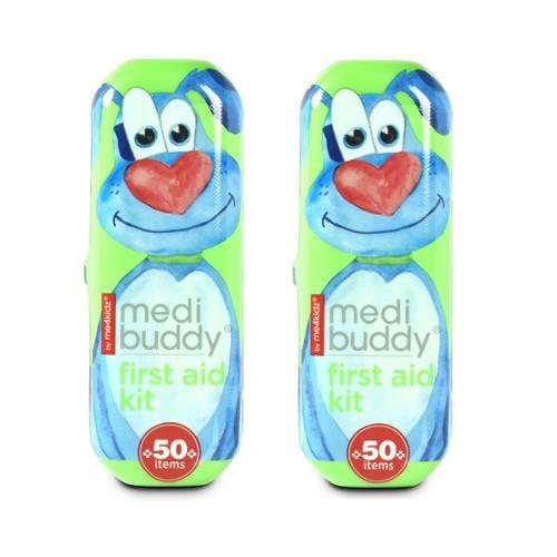 MediBuddy - First Aid Kit To Go by me4kidz, Set of 2 (Dog)