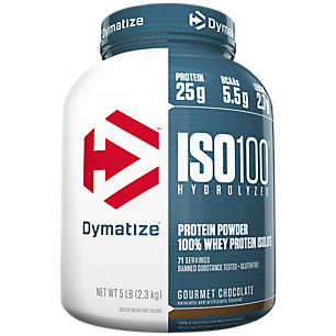 Dymatize Iso100 Gourmet Chocolate - Gluten Free