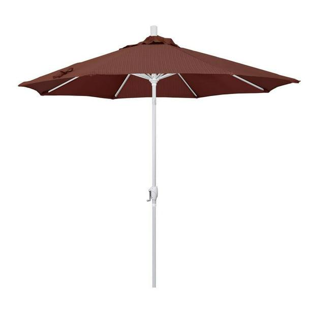 California Umbrella Pacific Trail Series Patio Market Umbrella In Olefin With Aluminum Pole Aluminum Ribs Push Button Tilt Crank Lift Walmart Com Walmart Com
