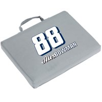 Alex Bowman Logo Bleacher Cushion - Gray - No Size