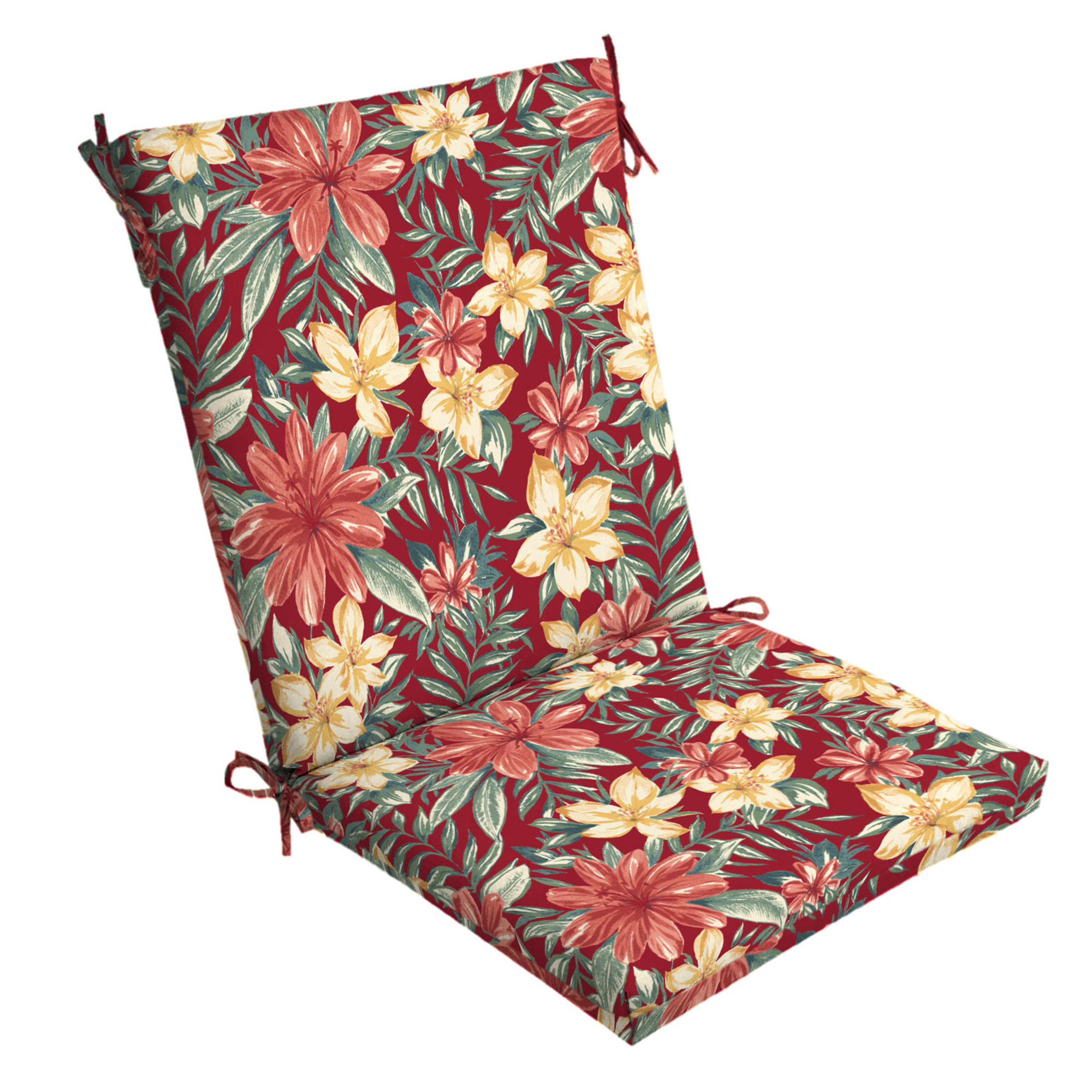 Arden Selections Ruby Clarissa Tropical 44 x 20 in. Outdoor Chair Cushion