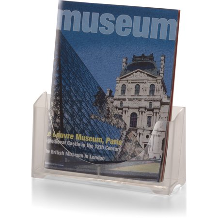Officemate OIC Literature/Magazine Holder, Clear (23014) Clear Acrylic Magazine Holder