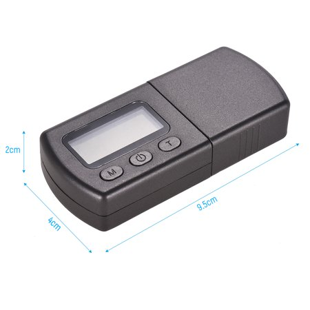 Mini Turntable Phono LP Stylus Force Scale Gauge ±0.01g Accuracy LCD Display with One 5g Weight Storage Bag - image 7 of 7