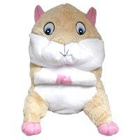 "#PlushPals 13"" Gerbil Hamster Stuffed Animal Plush Toy Soft & Fluffy - Tan"